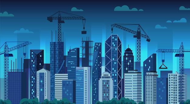都市開発。