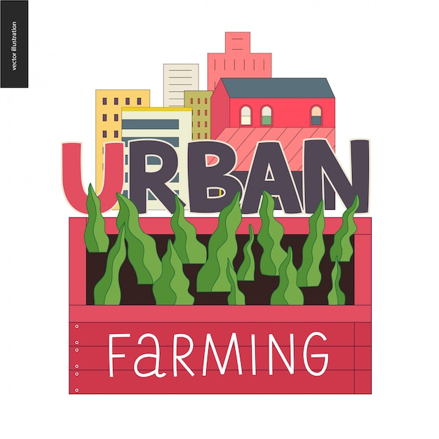 Urban farming and gardening