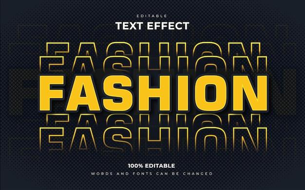 Стиль текстовых эффектов городской продажи моды