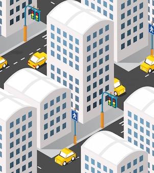 Urban isometric area