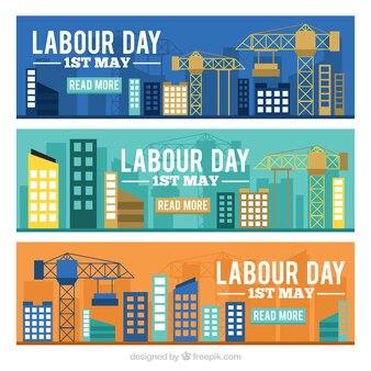 都市労働日のバナー