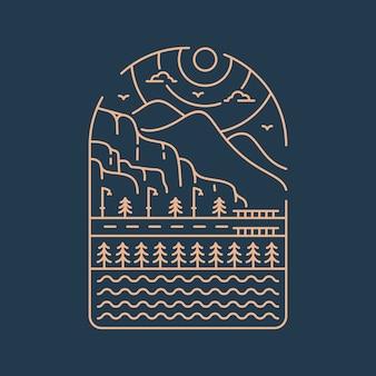 Urban nature logo
