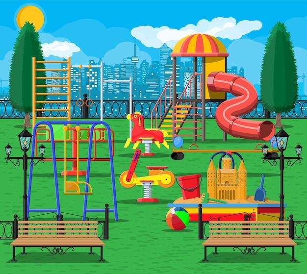 도시 놀이터 놀이 공원