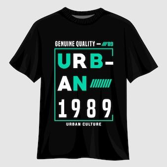 Дизайн футболки городского типа