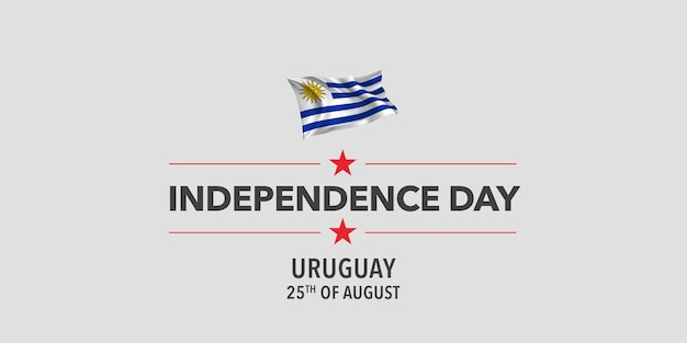 Уругвай с днем независимости приветствие баннер