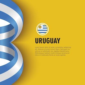День независимости уругвая вектор шаблон дизайна иллюстрации