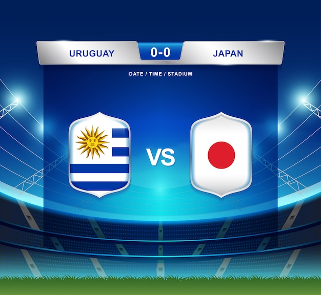 Uruguay vs japan scoreboard broadcast football copa america