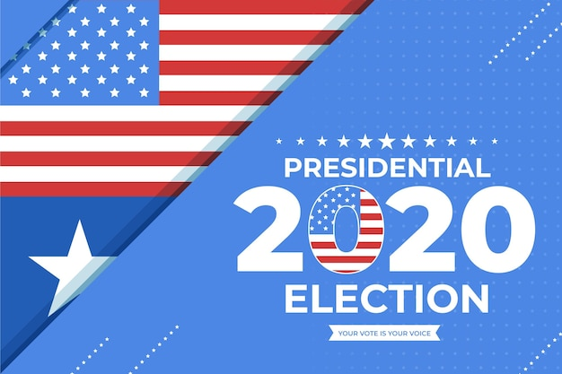Us presidential election background