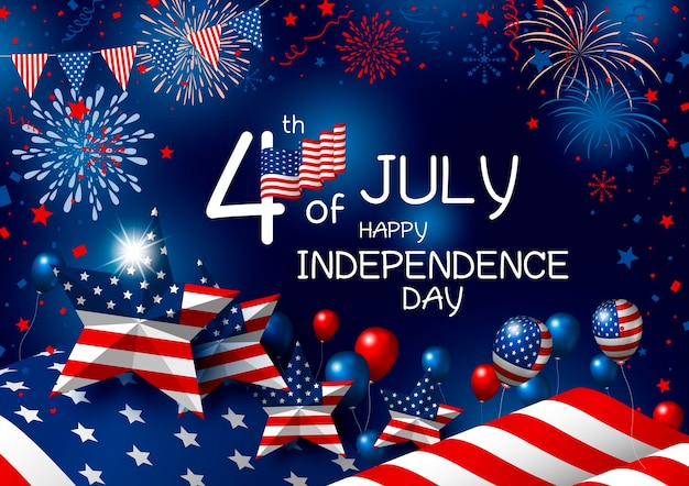 Usa 4th july happy independence day.