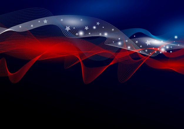 Usa abstract background design