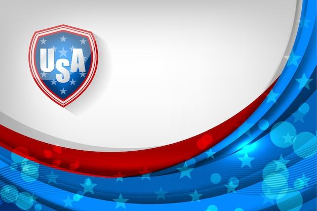 独立記念日やその他のイベントのための米国の背景