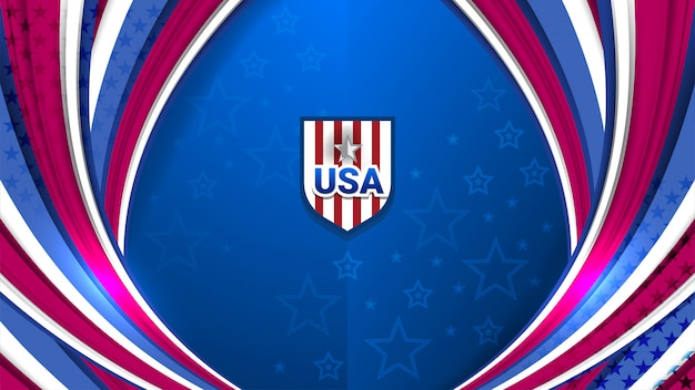 Usa background for holiday