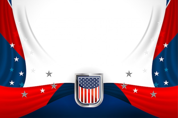 Usa background for president's day