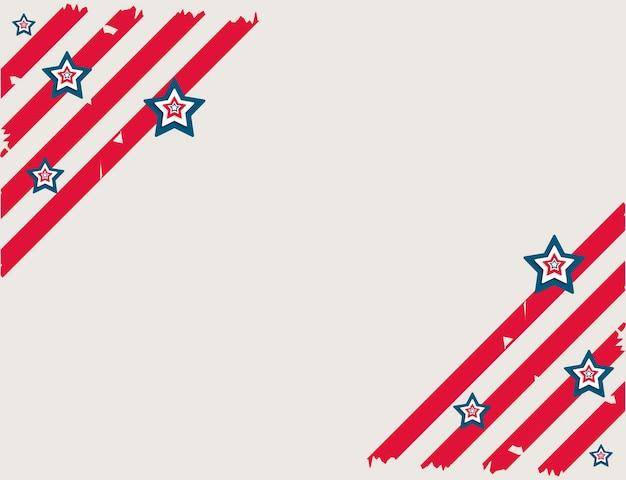Usa background stripes