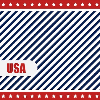 Usa background with lines