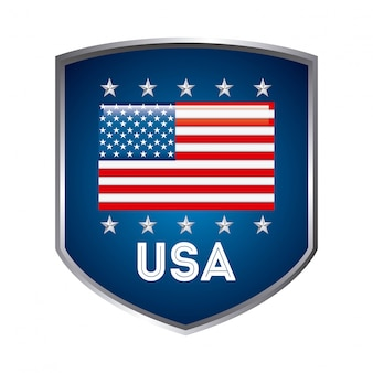 Usa design over white background vector illustration