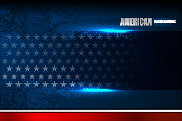 Usa flag background for independence day