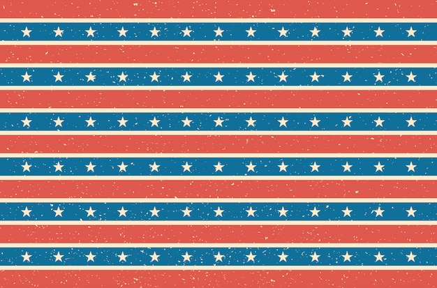 Usa flag design. vector illustration.