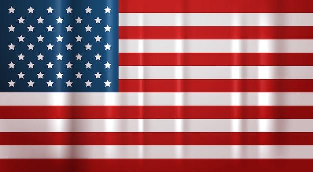 Usa flag national symbol united states of america banner