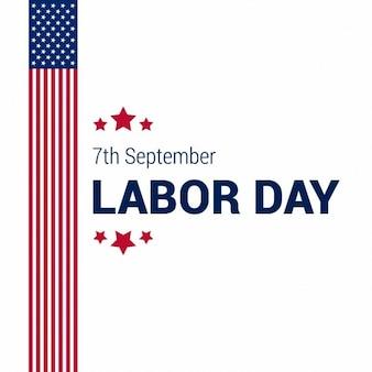 Usa labor day card