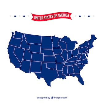 United States Map Vectors, Photos and PSD files | Free Download
