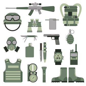 Usa or nato troop military army symbols