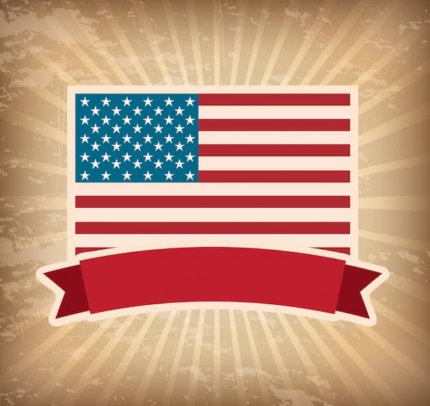 미국 포스터