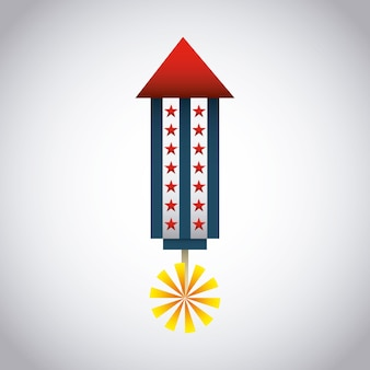 Дизайн символа usa, векторные иллюстрации eps10 graphic