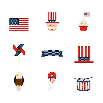 Usa symbol design, vector illustration eps10 graphic