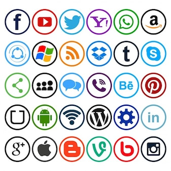 Useful icons for social networks