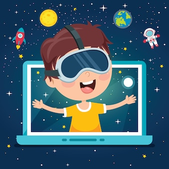 Using technology for education or business