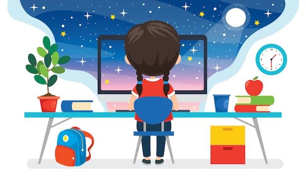 教育またはビジネスのためのテクノロジーの使用