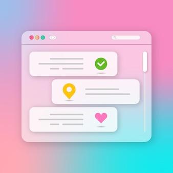 Ux interface