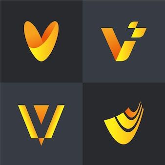 V 로고 컬렉션