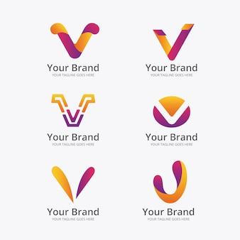 Коллекция логотипов v
