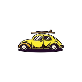 V wカブトムシのロゴ