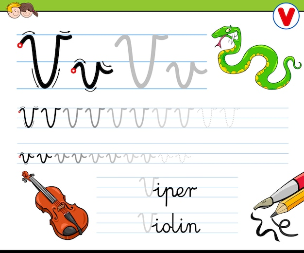 Как написать письмо v