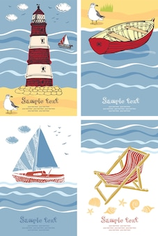 Vacation cards