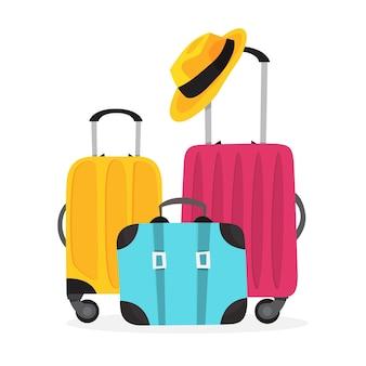 Концепция отпуска. идея летнего путешествия и путешествия