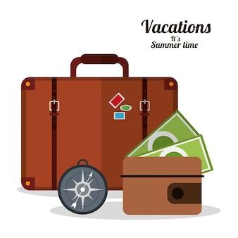 휴가 여름 시간