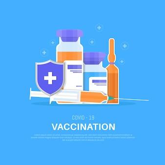 Vaccination illustration