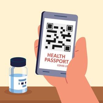 Вакцина от covid и паспорт здоровья