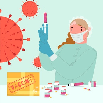 백신 개발 개념