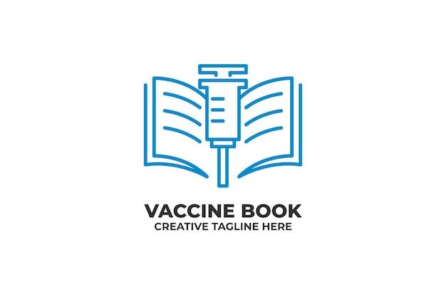 ワクチン注射本免疫化ロゴ