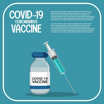 Vaccine research and development for coronavirus, template.