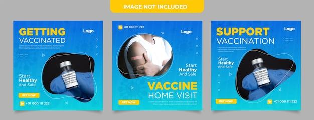 ワクチンソーシャルメディアポストコレクション