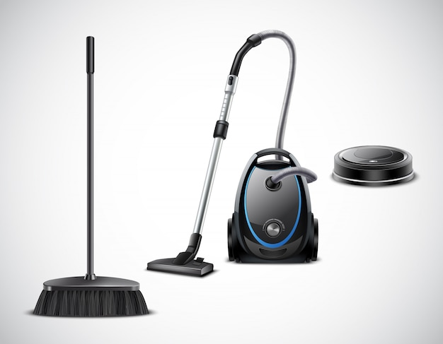 Vacuum cleaner evolution from broom to robotic appliance