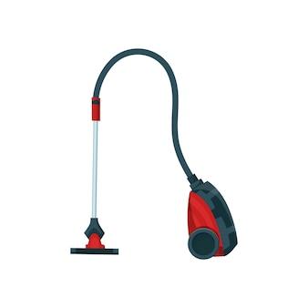 Пылесос современный значок. предмет для чистки ковров или стиральный робот-циклон.