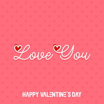 Valentine abstract background