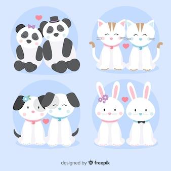 발렌타인 동물 커플 컬렉션